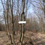 Pod-Lipinou-stara-drevena-tabulka-oznacujuca-odbocku-k-rekreacnemu-zariadeniu-AHOJ